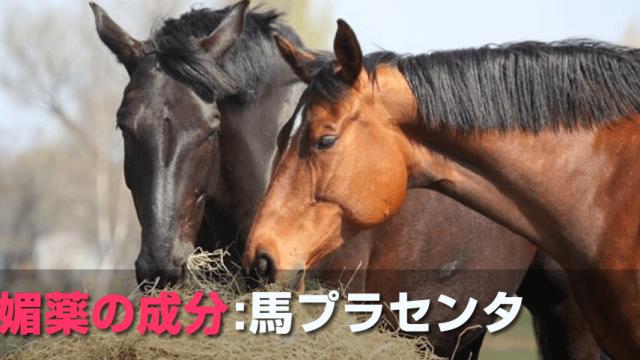 媚薬の成分:馬プラセンタ